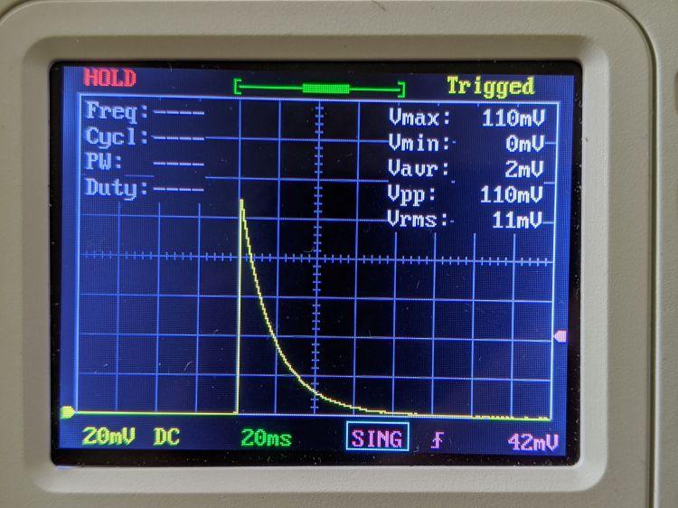 LM3909 blue - 2.0 V - R1 24 ohm
