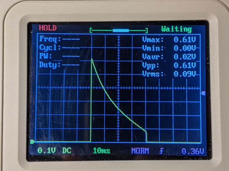 LM3909 blue - 3.1 V - R1 24 ohm
