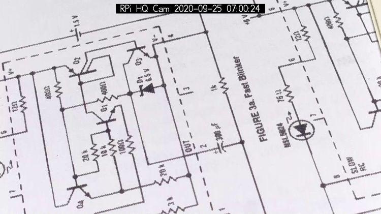 RPi HQ Camera - aperture demo - f 16