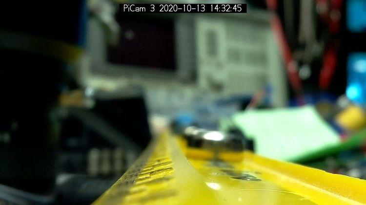 Arducam Motorized Focus test - focus 5 cm