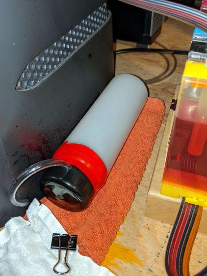 Epson R380 - DIY waste tank - installed