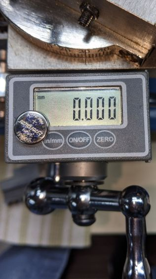 Mini-lathe DRO battery replacement - 11 months