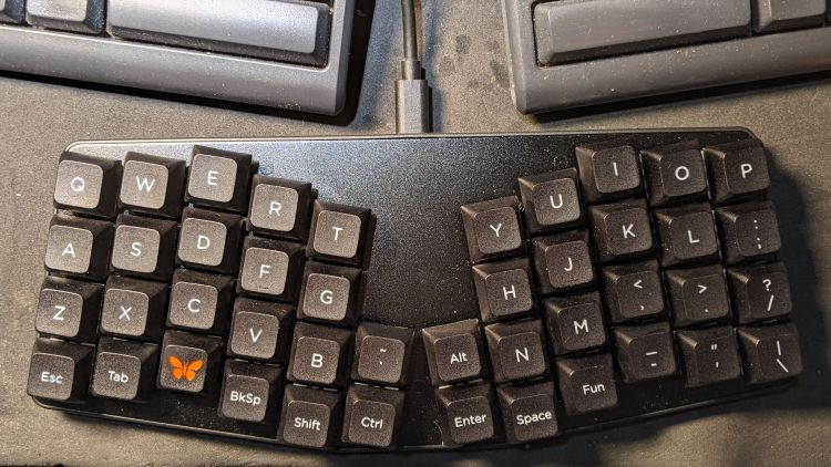 Atreus keyboard - overview
