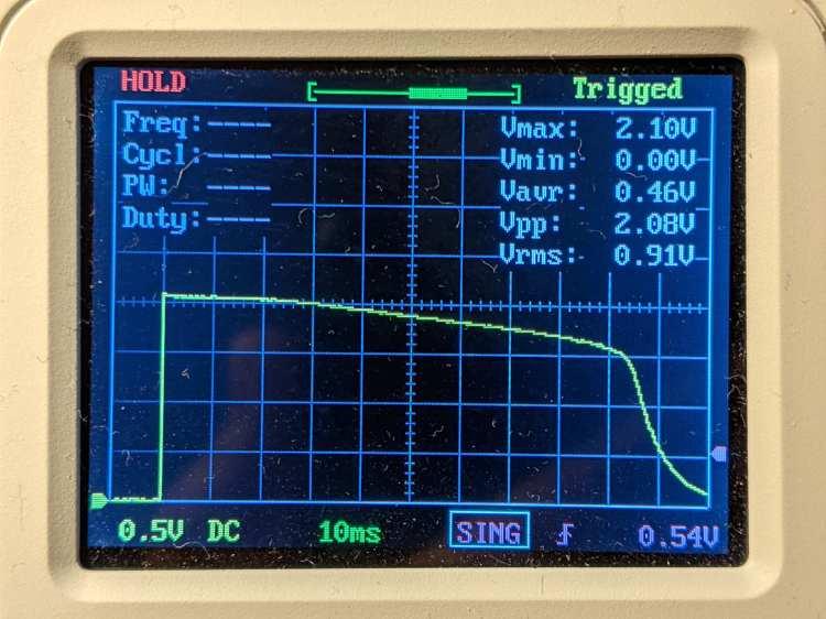 Astable AA - Amber - LED V
