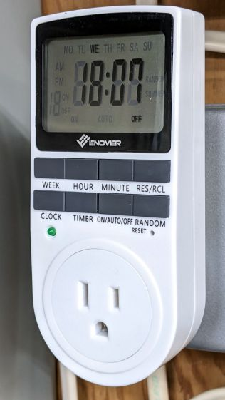 Enover outlet timer - overview