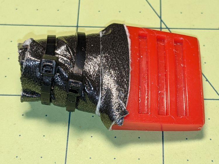 MTD Snowthrower Throttle Knob - crude repair