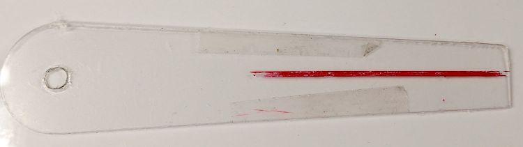 Tek CC Cursor - tape removed