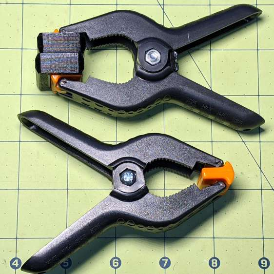 Spring Clamp pads - compared