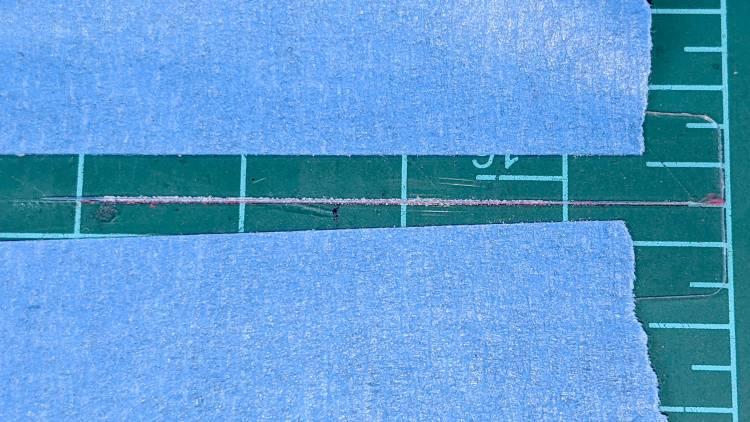 Tek CC - first sawed cursor - detail