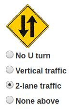 Driving class - 2-lane traffic