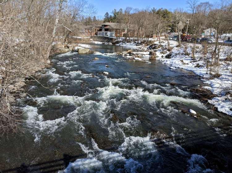 Red Oaks Mill Dam - 2021-02-25