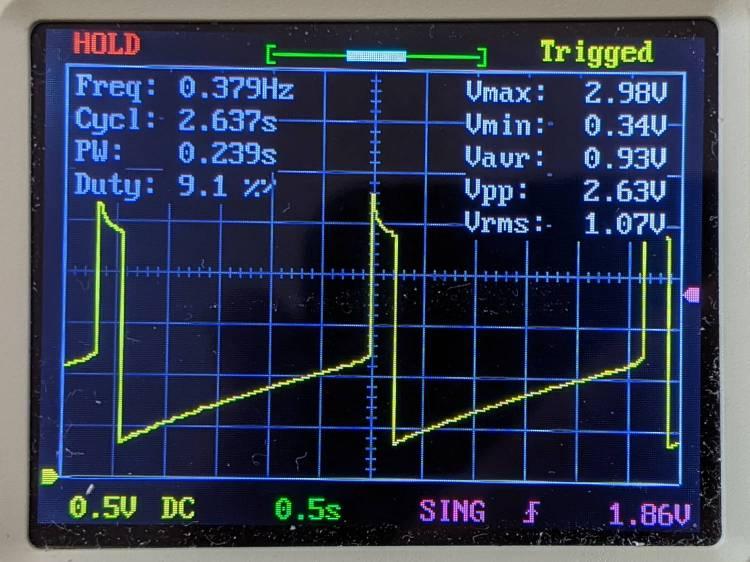 LM3909 Blue - 2.4 V alkaline
