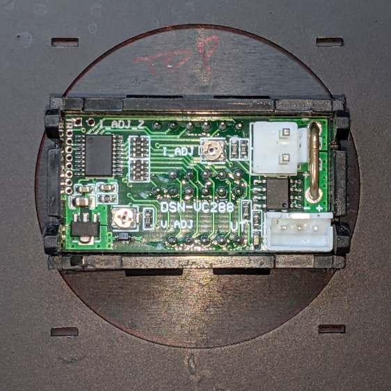 Schauer battery charger - bezel test fit
