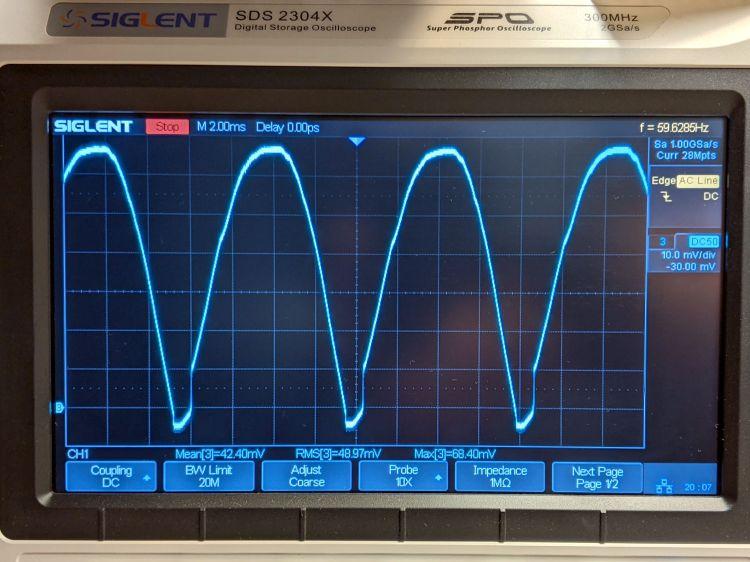 Schauer battery charger - current waveform
