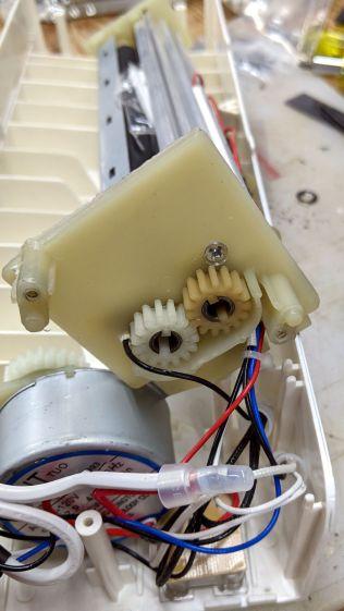 AmazonBasics laminator - roller gears