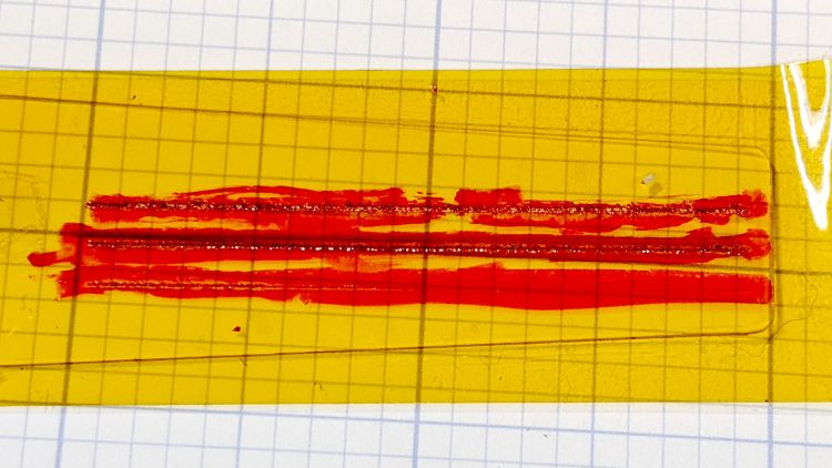 Hairline V tool - 0.2 0.3 0.4 DOC - Kapton Sharpie