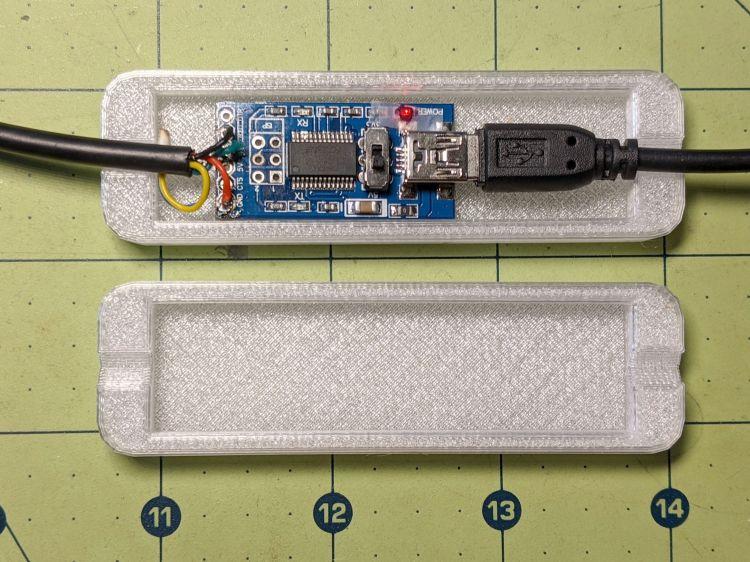 Bafang USB-serial adapter interior