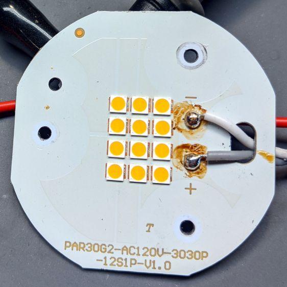 Satco PAR30 - LED panel detail