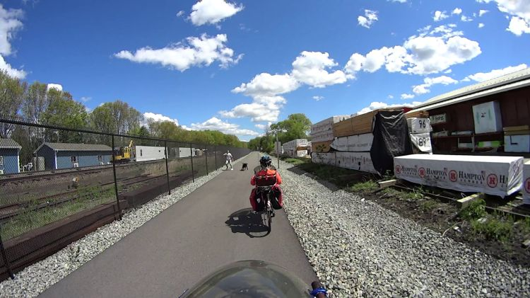 Empire State Trail - Dog Lunge - 2021-05-12 - 1