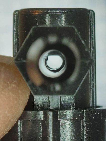 Dripworks valve - mostly open lumen