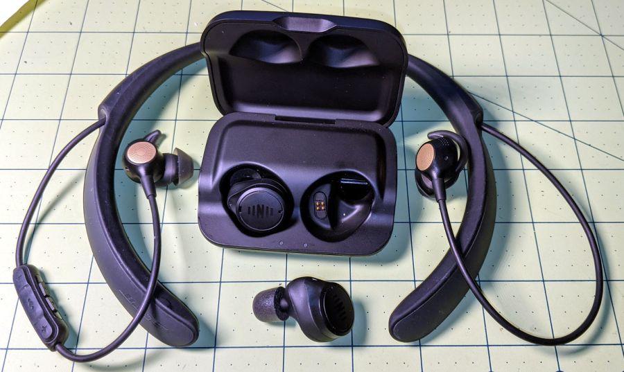 Bose Hearphones - Nuheara IQbuds2 MAX
