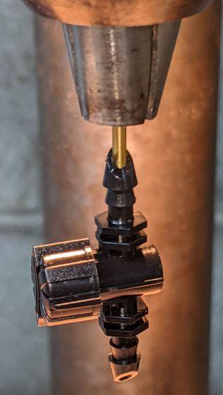 Dripworks valve - drilling