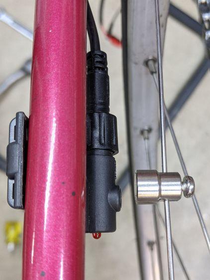 Bafang BBS02 Speed Sensor - reversed bracket - top