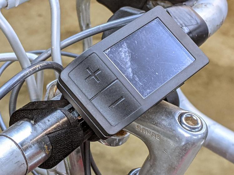 Bafang Display adapter - left view