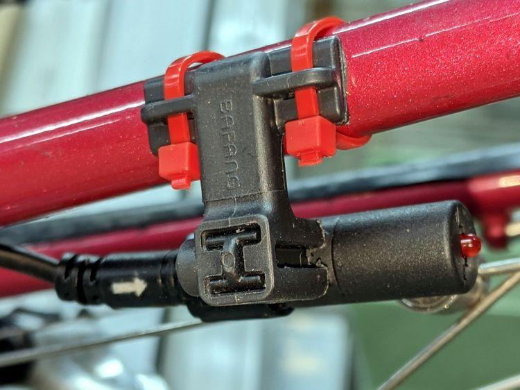 Bafang BBS02 Speed Sensor - reversed bracket - left side