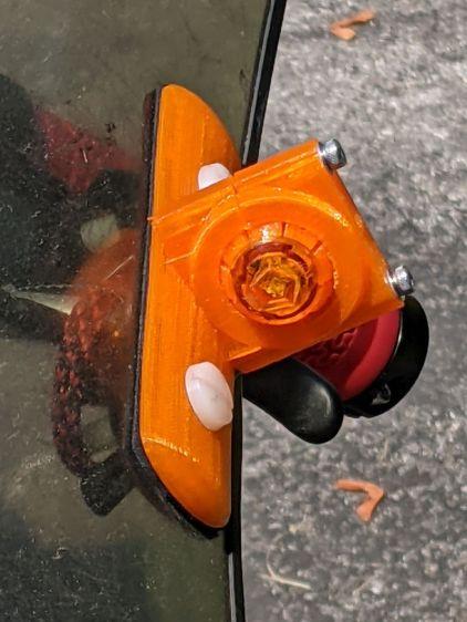 Fairing Mounted Side Marker - installed