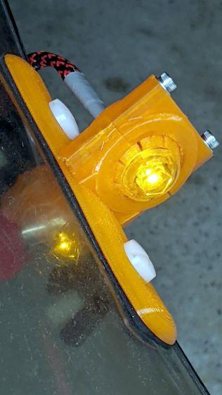 Side Marker E rebuilt - installed