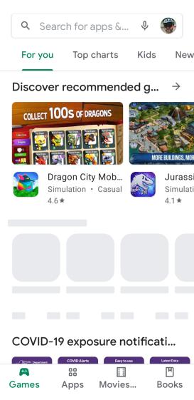 Google Play Store - app ad delay