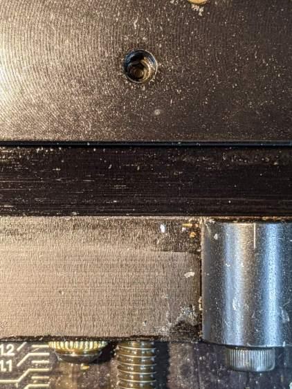 Sherline Y-Axis Nut Mishap - setscrew