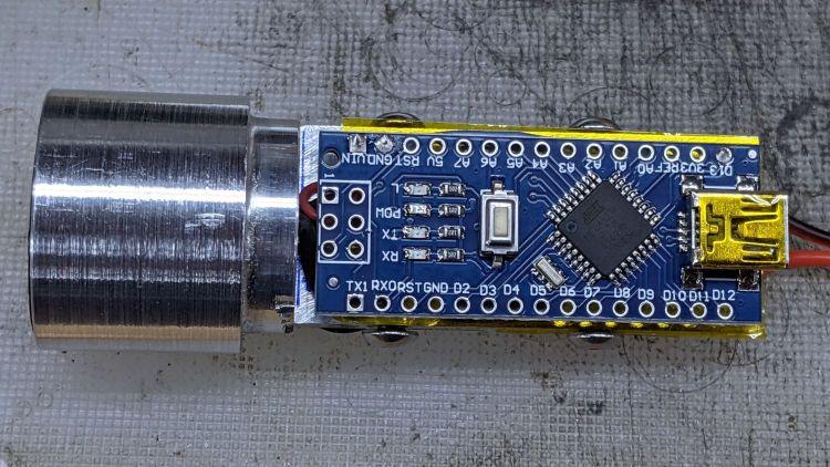 1 W LED Running Light - Arduino side