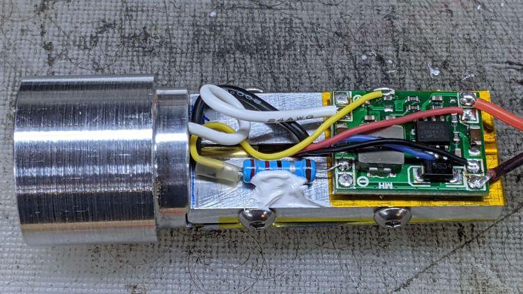 1 W LED Running Light - Regulator side