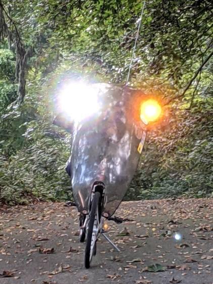 1 W Amber Running Light - First Light
