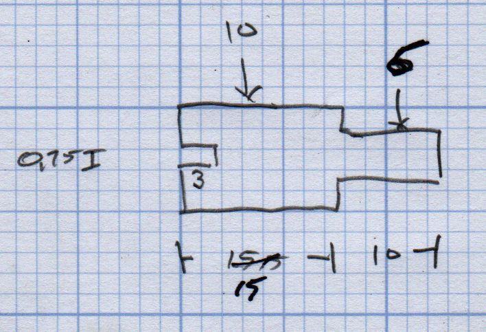 Micro-Mark Bandsaw - metal blade guide dimensions