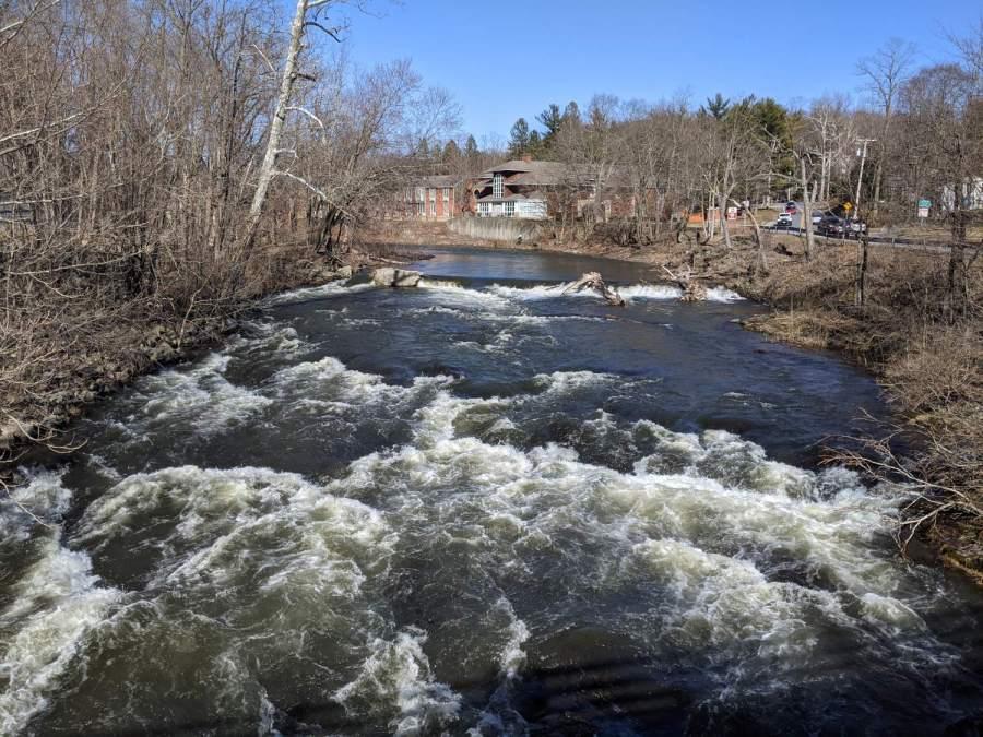 Red Oaks Mill Dam - 2021-03-19