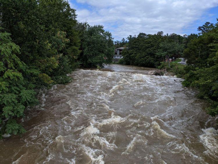 Red Oaks Mill Dam - 2021-09-02