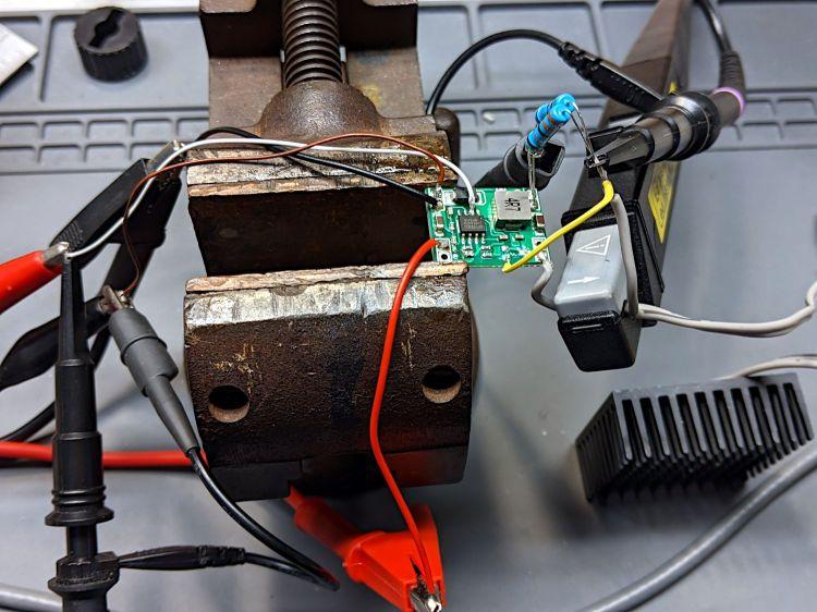 1 W Amber LED - MP1584 pulse setup