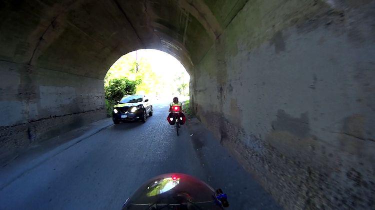 Tour Easy Rear Running Light - tunnel