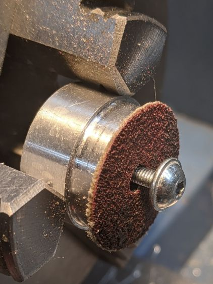 Improved disk turning tool